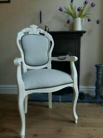 French Louis carver chair