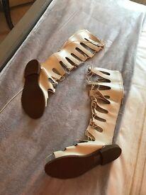 Gladiator sandals size 5