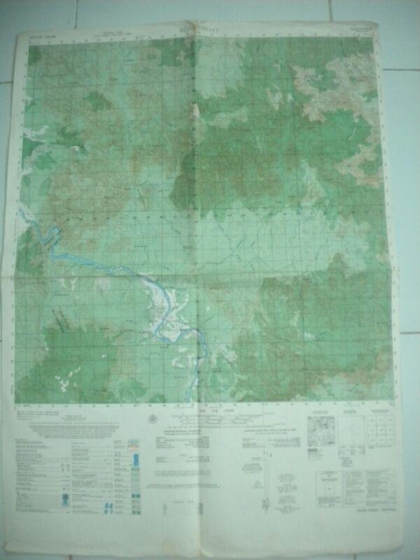 BUON THOAT Special Forces Vietnam map Phu Bon Province 6735 IV
