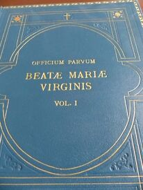 Calligraphy; Officium Parvum