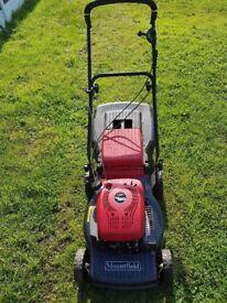 Mountfield rv150 petrol lawn mower