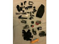 GoPro HERO Session Full HD Action Cam with accessories + 32GB Micro SD