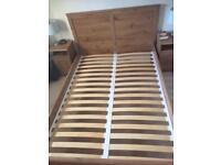 IKEA Aspelund double bed