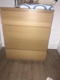 Chest wardrobe 4 drawers