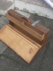 old joiners tool box 1970s