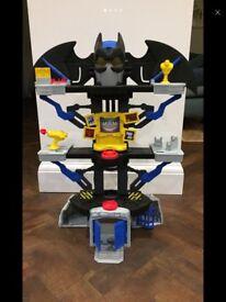 Imaginext Transforming Batcave, Joker Laff Factory.