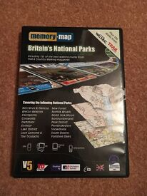 Memory Map National Parks 1:50,000