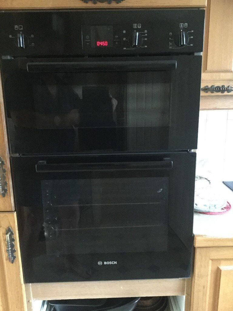 Integrated Bosch Double Oven - Good Condition