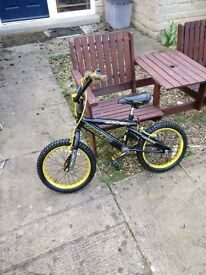 BMX childrens bike possibly for 5-9 year olds just serviced and new tyers added