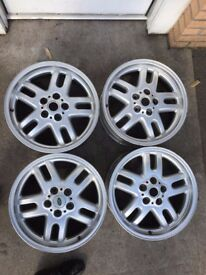 LANDROVER RANGE ROVER 18 INCH ALLOY WHEELS 5 SPLIT SPOKE 18 X 7.5J ET 53 5 STUD £70 EACH