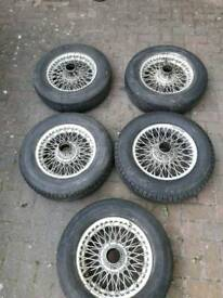 Mgb wheels