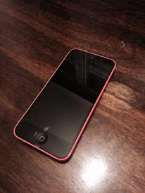 iPhone 5c Pink Unlocked to all Networks