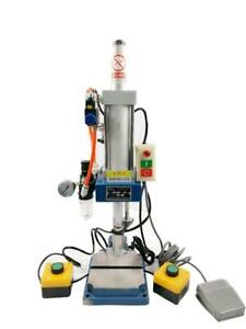 Pneumatic Punch Machine With 2 Buttons Controller 110V #230545