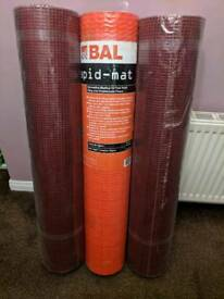 "(1m x 30m) x 3 ""BAL"" Rapid Mat, Uncoupling Matting for Fast Track Tiling onto Problematic Floors"