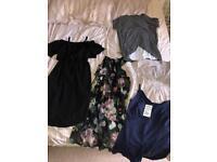 Maternity nursing clothes bundle | UK size 8