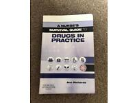A nurses survival guide- Drugs in practice for sale  South Yorkshire