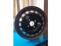 15 inch 4 stud steel wheel new