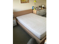 IKEA DOUBLE BED FRAME IN GOOD CONDITION