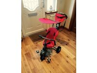 Toddler's unisex red trike in excellent condition and hardly been used