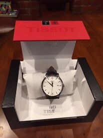 Tissot Classic Men's Watch Brown Leather Strap
