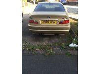 Champagne Metaiilc BMW 330