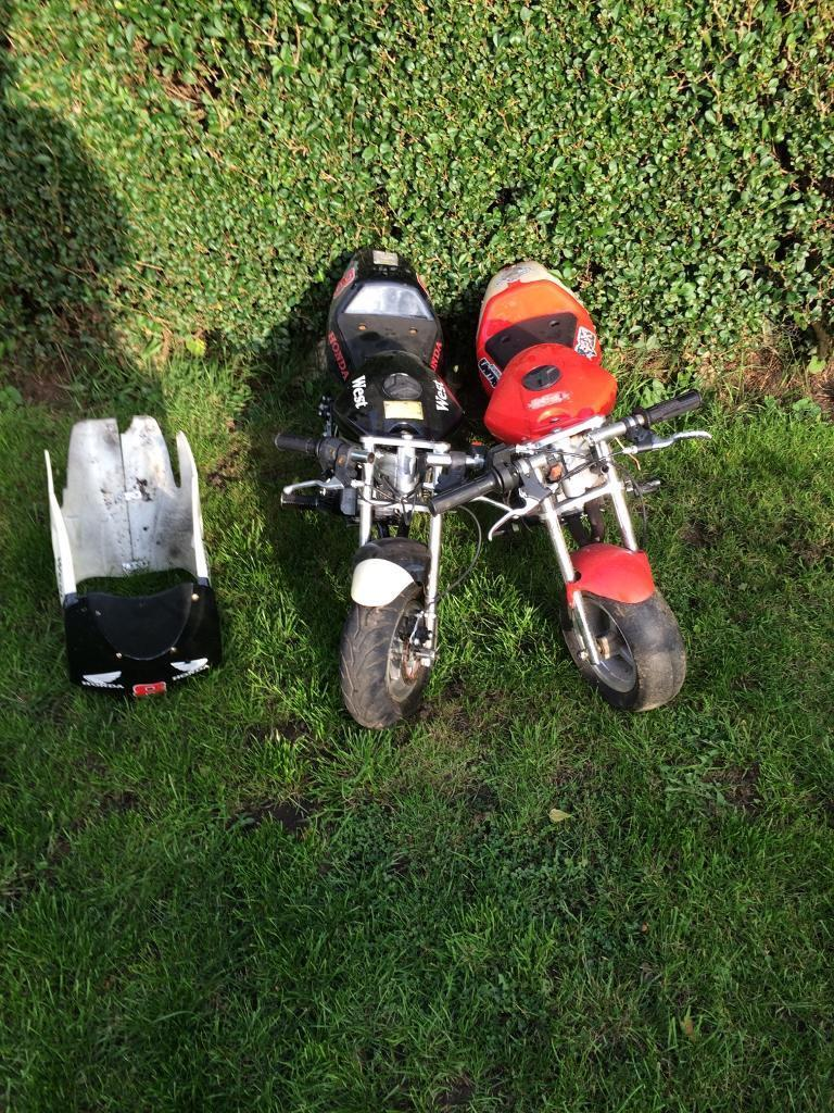 2x mini motors