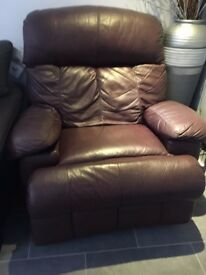 Electric massage and reclining armchair