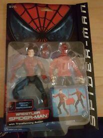 Spider-Man: wrestler spider man Action Figure