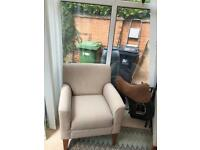 Wool arm chairs