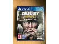 Call of Duty WW2 Brand New Sealed COD