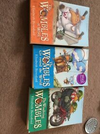 The Wombles 3 books for sale