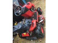 Countax k18 ride on lawnmower