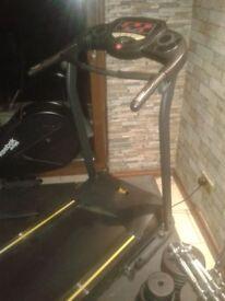 Everlast folding treadmill with MP3 player