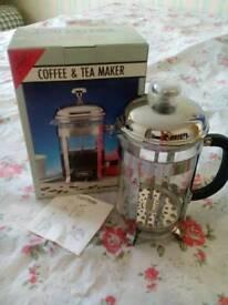 Tea/coffee maker.