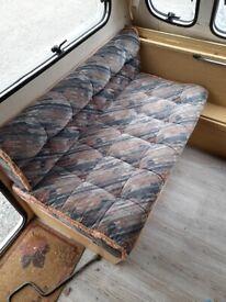 Caravan short seat cushions