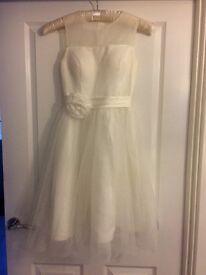 Beautiful Wedding Tea Dress Size 6 to 8