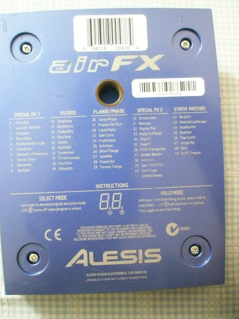 Alesis Air FX (DJ / Studio FX)