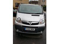 Vauxhall Vivaro panel van - vat free, very low mileage, mot 1yr + service history
