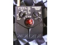 Guitar Pedal Effects Button ZOOM 505 II Guitar Multi-effects delay acoustic echo