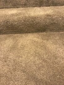 Thick grey carpet off cut 2.10 x 2.25m