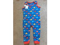 Frugi kneepatch dungarees, size 18-24m, BNWT