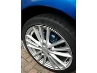 """17"""" suzuki swift alloys and tyres"""