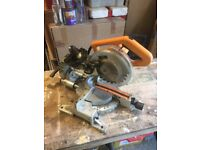 JCB Cross Pull Mitre saw 210mm spares or repair