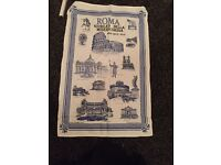 Tea Towel From Rome Brand New £2