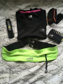 Women's Running Top, Belt & Accessories