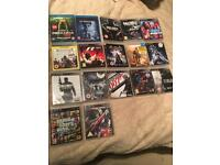 Various ps3 games + blu rays - various prices