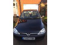 Vauxhall Corsa 1ltr 3 door for sale