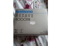 FISHING KIT shimano nexave 4000rb brand new