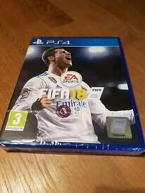 FIFA 18 PS4 new and wrapped