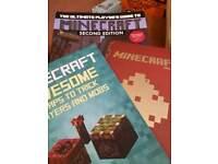 3 minecraft books